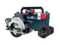 Bosch GKS 18 V-57 G 18V Circular Saw 2 x 5Ah Batteries