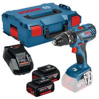 Bosch GSB 18 V-28 DYNAMICseries 18V Combi Drill 2 x 5Ah Batteries