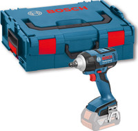 Bosch GDS 18 V-EC 250 Brushless 18V Impact Wrench Body Only L-BOXX