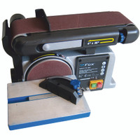 "FOX 4"" Belt & 6"" Disc Sander"
