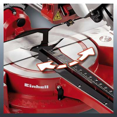 Bekend Einhell TC-SM 2534 Dual 250mm Bevel Crosscut Mitre Saw HO89