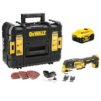 Dewalt DCS355P1 18v Cordless Multi Tool (1 x 5Ah Batteries) (DCS355P1)