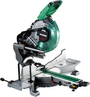 Hi Koki 255mm Sliding Compound Cordless Mitre Saw (3 x 4Ah Batts) (C3610DRA/JAZ)