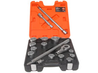 Bacho SLX17 Socket Set of 17 Metric 3/4in Drive