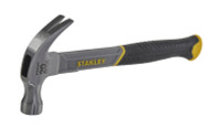 Stanley 570g(20oz) Fibreglass Handle Curved Claw Hammer