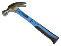 Tala 20oz Fibreglass Shaft Curved Claw Hammer (TAL260621)