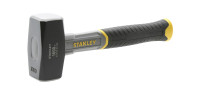 Stanley 1500g Fibreglass Handle Lump Hammer
