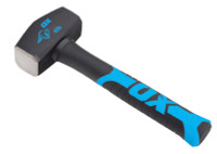 Ox Trade 1.8kg(4lb) Fibreglass Handle Lump Hammer