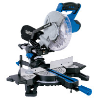 Draper 210mm Compound Mitre Saw with Laser (1500W) (83677)