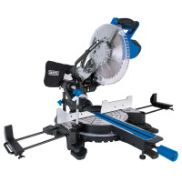 Draper 255mm Sliding Compound Mitre Saw with Laser (2000W) (83678)