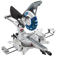 Draper 250mm Double Bevel Sliding Compound Mitre Saw with Laser (2000W) (28043)