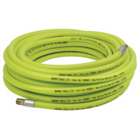 "Draper 15.2M 1/4""BSP 6mm Bore High-Vis Air Line Hose"