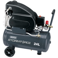 Draper 05226 24 Litre Air Compressor (05226)