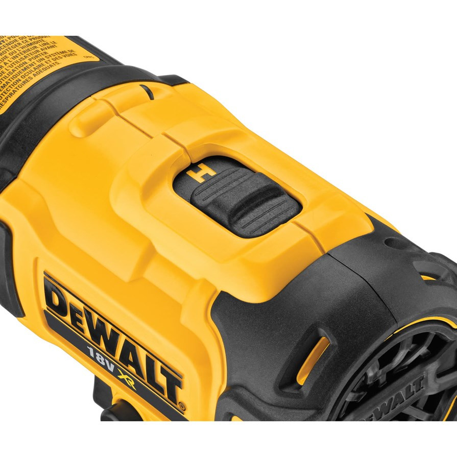 Dewalt DCE530N 18V Cordless Heat Gun (Body Only) (DCE530N)