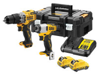 Dewalt DCK2111L2T 12V Brushless Twin Kit (2x3.0Ah Batts)