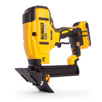 Dewalt DCN682D2 18V Cordless XR Brushless 18Ga Flooring Stapler, 2 x 2.0Ah Batteries