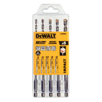 Dewalt 5 Piece Multi-Purpose Drill Bit Set