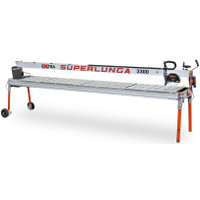 Battipav Extra 3300 Superlunga Tile Bridge Saw with Laser & Wheels (6733001)