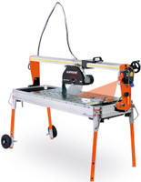 Battipav Supreme 120S Marble Bridge Saw with Wheels & Laser (81201)