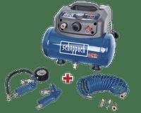 Scheppach HC06 1200W 6 Litre Compressor Kit