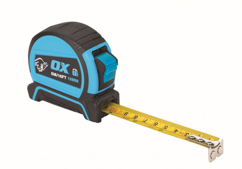 Ox Pro 5M Dual Auto Lock Tape Measure (OX-P505205)