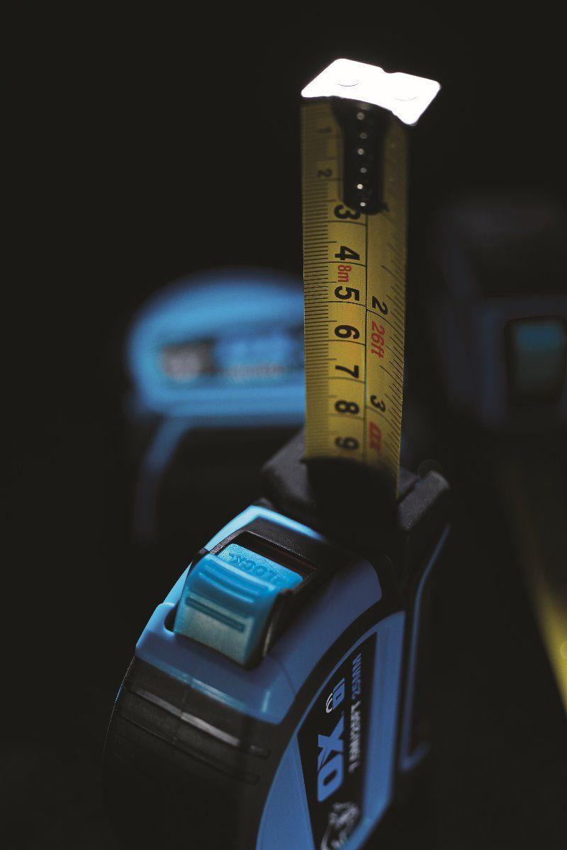 Ox Pro 8M Dual Auto Lock Tape Measure (OX-P505208)