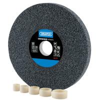 Draper 200 x 25mm Aluminium Oxide Grinding Wheel (36 Grit) (99570)