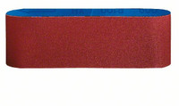 Bosch 75 x 457 mm 120 Grit Sanding Belts (3 Pack)