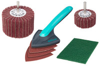 Wolfcraft Woodwork Sanding Set