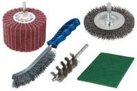 Wolfcraft Metalwork Sanding Set