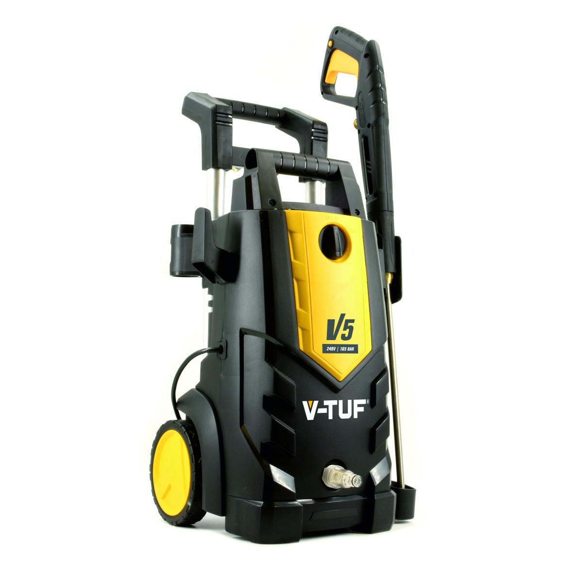 V-TUF V5 240v Tough Electric Pressure Washer - 2400psi, 165Bar, 7.2L/min