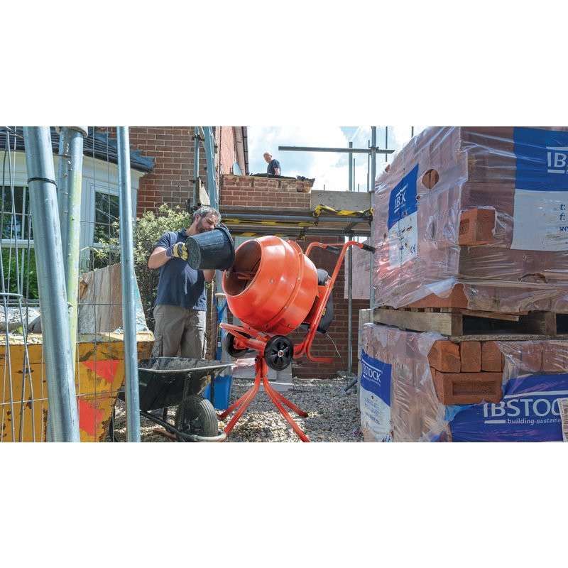 Draper 160L Cement Mixer 230v