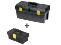 Stanley Toolbox 50cm (19in) + Toolbox 32cm (12.1/2in)