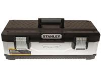 Stanley Galvanised Metal Toolbox 66cm (26in)