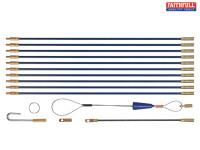 Faithful 3.3m Cable Rod Set 15 Piece