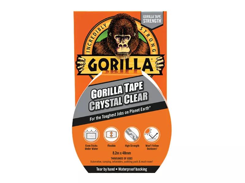 Gorilla Tape 48mmx 8.2m (Clear) (GRGCLTAPE48)