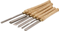 6 Piece Woodturning Chisel Set
