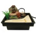 Zen Garden Table Water Fountain w/ Jar