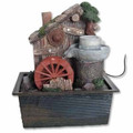 Feng Shui Table Water Fountain w/ Watermill