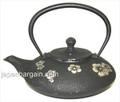 Black Plum Blossom Cast Iron Teapot 18oz