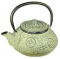 Ancient Coin Tetsubin Cast Iron Teapot 21oz