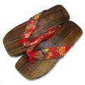 Women's Geta Japanese Kimono Sandal #181