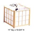 Natural Color Wooden Shoji Tatami Ceiling Lamp