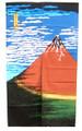 Mt Fuji Noren Doorway Curtain 33x59in