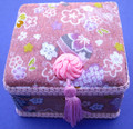 Square Skaura Jewelry Box #22630-6