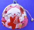 Maneki Neko Lucky Cat Coin Purse #22408-2
