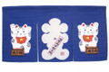Maneki Neko Noren Curtain Lucky Cat 33x17in