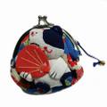 Maneki Neko Lucky Cat Coin Purse #22408-6