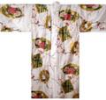 Japanese Women's Kimono Robe w/ Crane