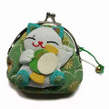 Maneki Neko Lucky Cat Coin Purse #22408-7
